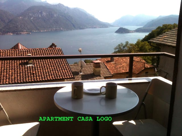Casa Logo , fantastic lake and mountaines view !