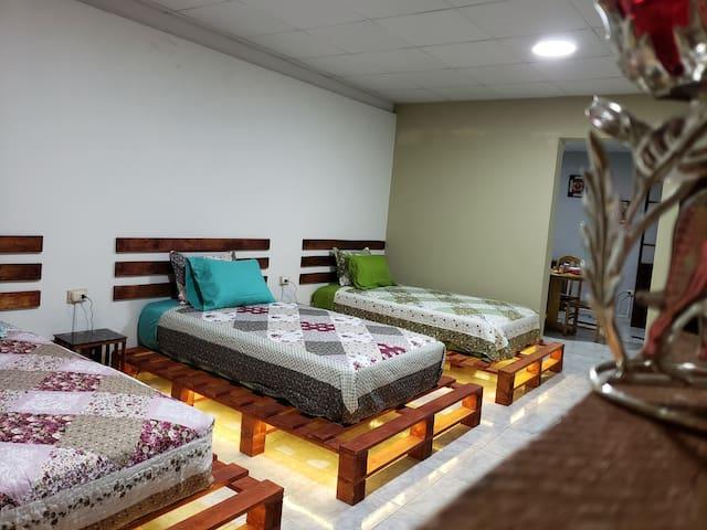 Habitación ideal para viajeros ¡Bienvenidos!