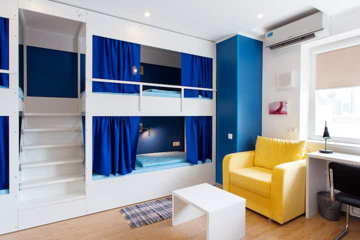 Хостел Квартира31 Место в 8 местном номере