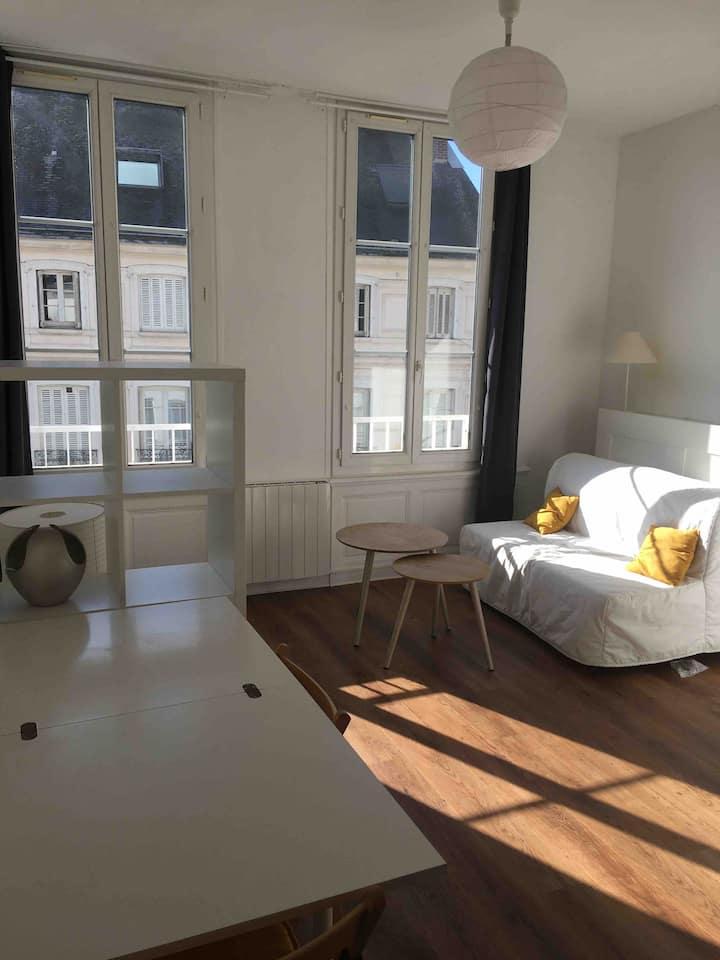 Rouen centre proche Gare: Studio de 19m²