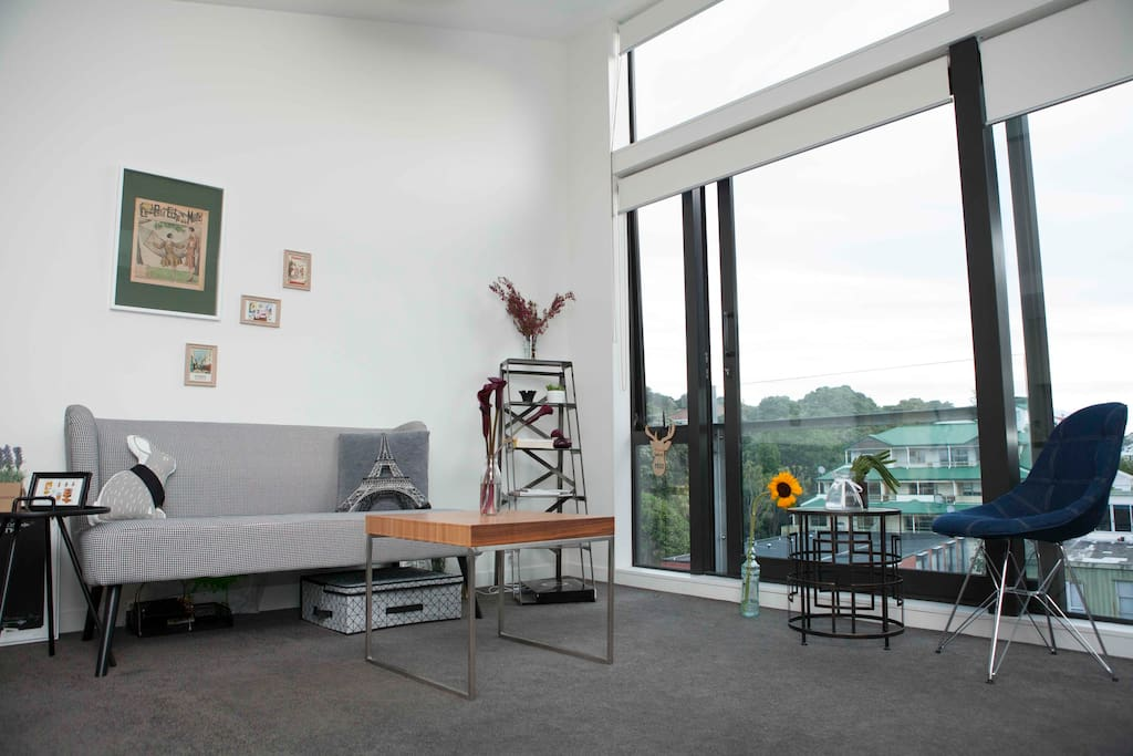 Peace in Wellington   Piano  Top-Floor - Apartments for