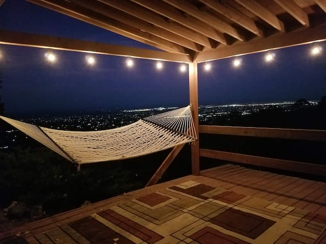 Porch Lounge Area and View