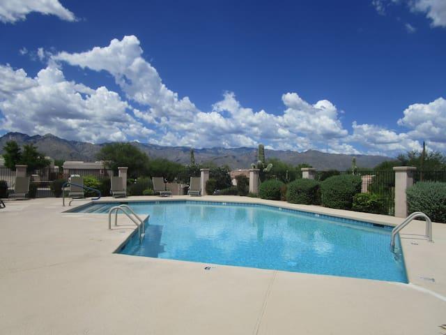 Beautiful Gated  Northeast Tucson Home
