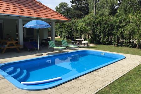 NEW Modern House with Pool - Szántód - Huis