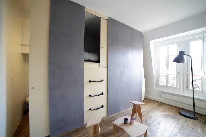 Studio d'architecte : Chaumont,  Zenith,  Vilette