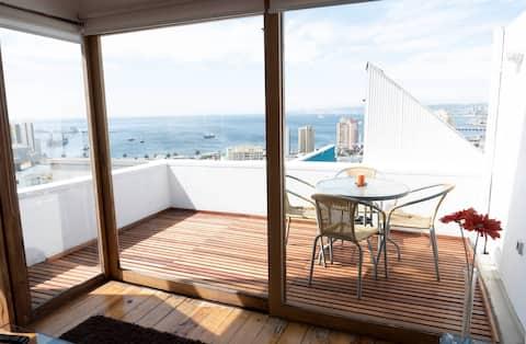 Maison de trois étages avec vue panoramique!