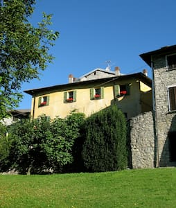 Casa Soave, i Cerano vid Comosjön - Cerano d´Intelvi (CO) Como
