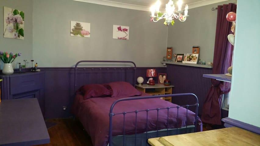 La chambre d'Adeline - Nanteuil les meaux - Haus