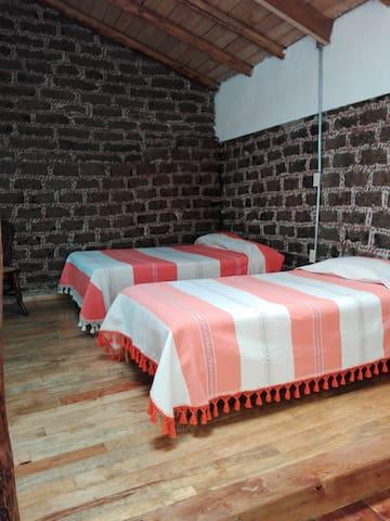 Cómoda y acogedora habitación a 30 min de Toluca