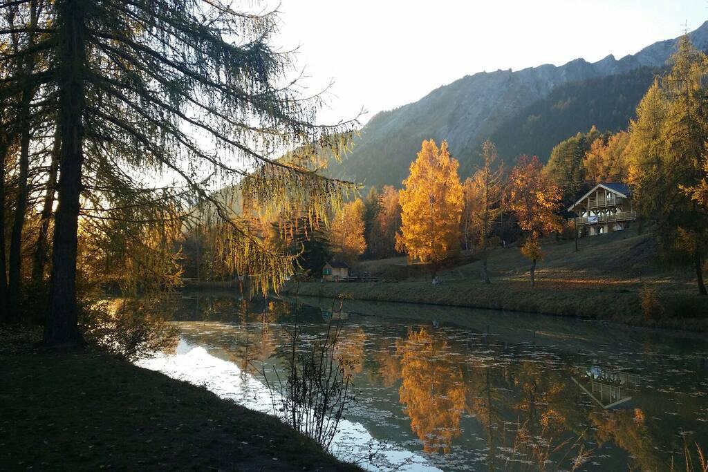 l'Etang Long en automne
