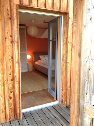 Charmantes Zimmer S/O mit Bergblick - Raubling