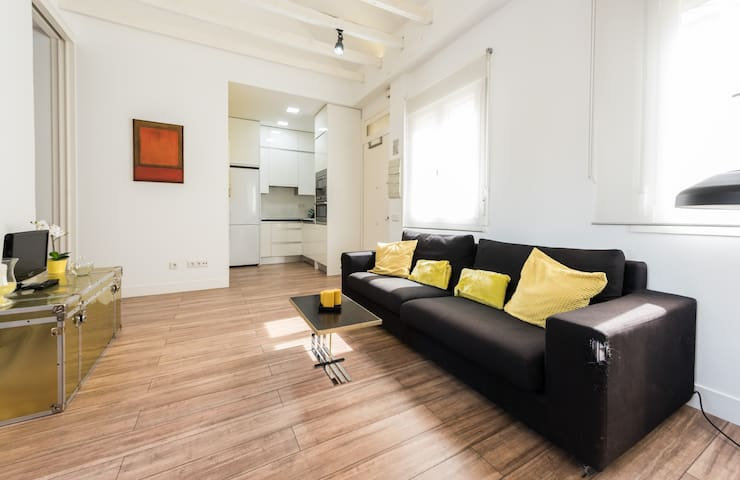 Cozy apartment with terrace!!! - Madrid - Apartment