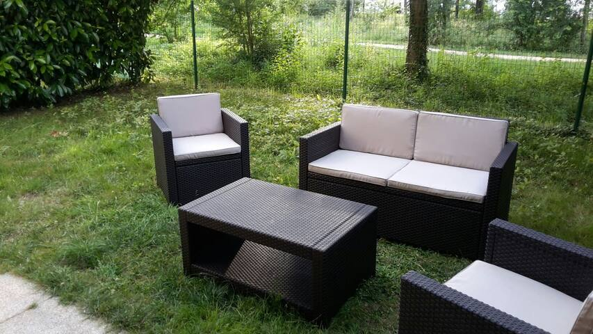 Bel appartement ac jardin poitiers - Poitiers - Apartment