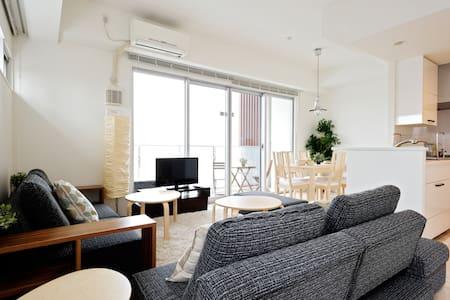 Top floor☆Wood Condo in Namba - Nishi-ku Osaka - Flat