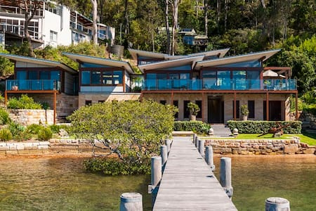 Pittwater waterfront - 10 minutes to Palm Beach - Scotland Island - House