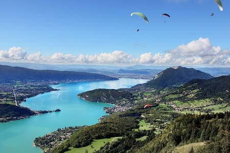 Annecy, between Lac and Mountains, 250m2, 16 beds - Alex