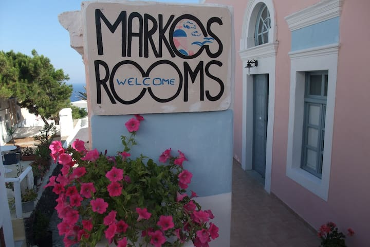 Marcos Rooms-Standard Twin Private - Thira - Wikt i opierunek