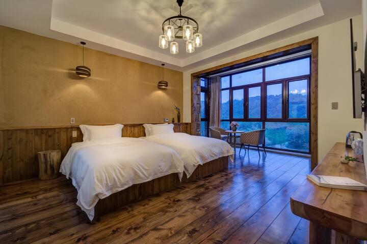 香山雅客双床房