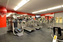 Keep your workouts on track at the new Fitness Center