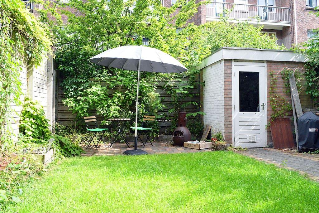 Cosy appartement with garden appartamenti in affitto a for Appartamenti in affitto amsterdam