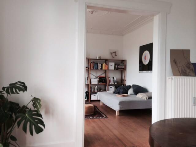 Stor og lys lejlighed - Aarhus - Daire