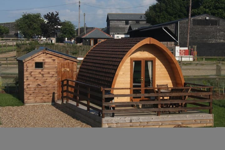 MegaPod 1 at Lee Wick Farm Cottages & Glamping