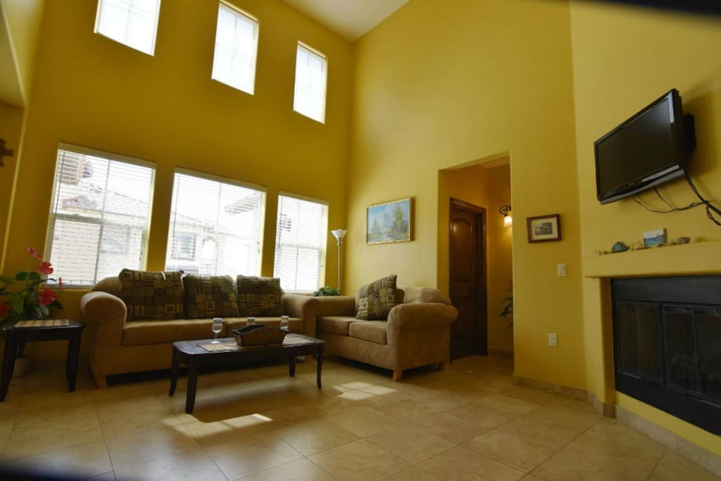 El Dorado Ranch Rental Villa 41-1 -  family living room