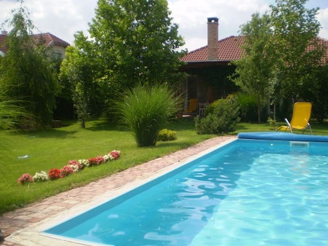 House w. pool close to the airport - Budapest
