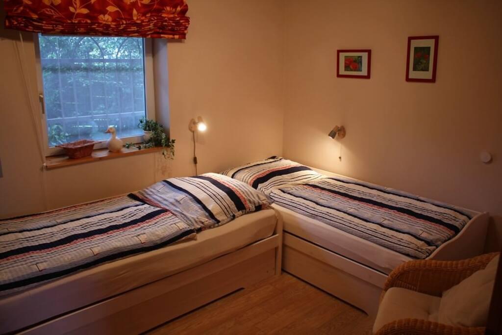 Das kleinere Schlafzimmer