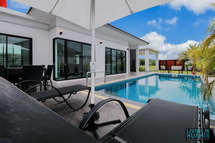 Villa con piscina y jacuzzi - Pak Nam Pran