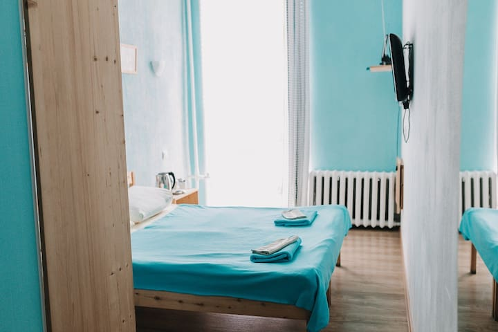 Комната в мини-отеле.В самом центре Владивостока.