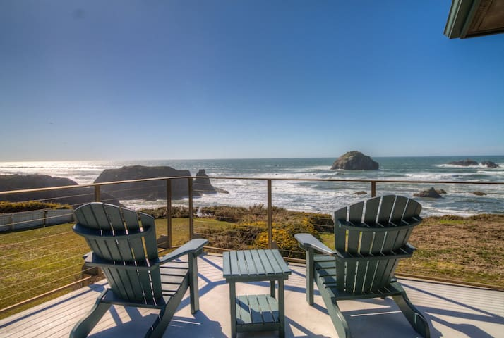 Unobstructed Oceanfront View at Face Rock
