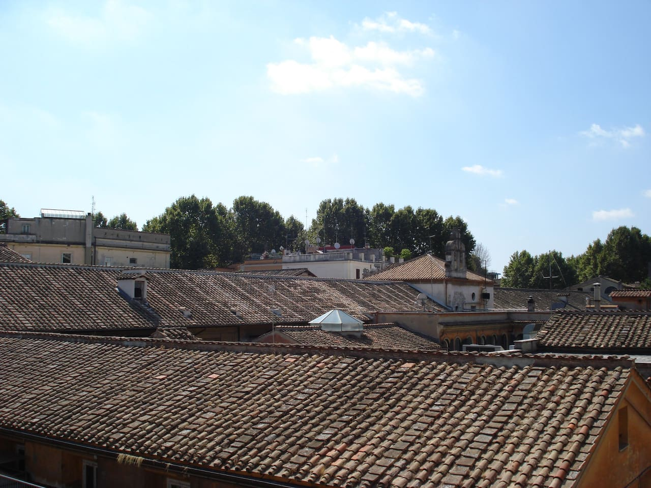 San Gallicano - view from apartment window