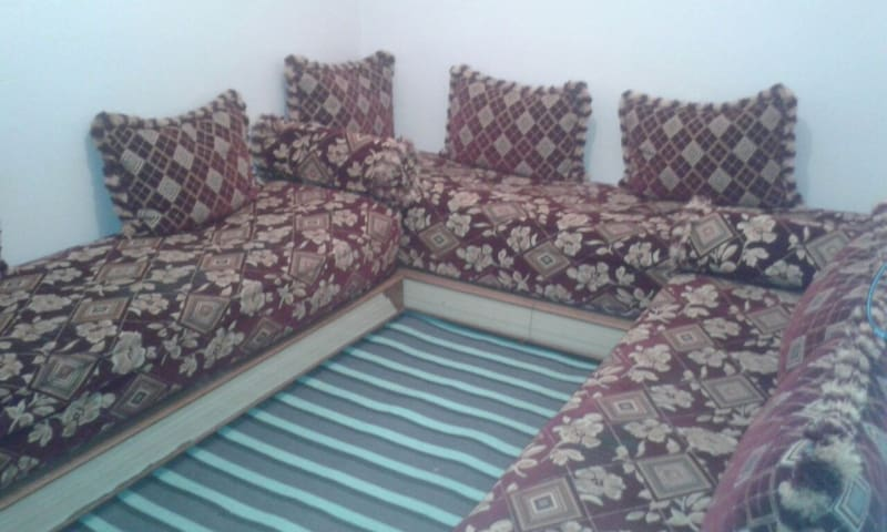 Private place in moroccan style