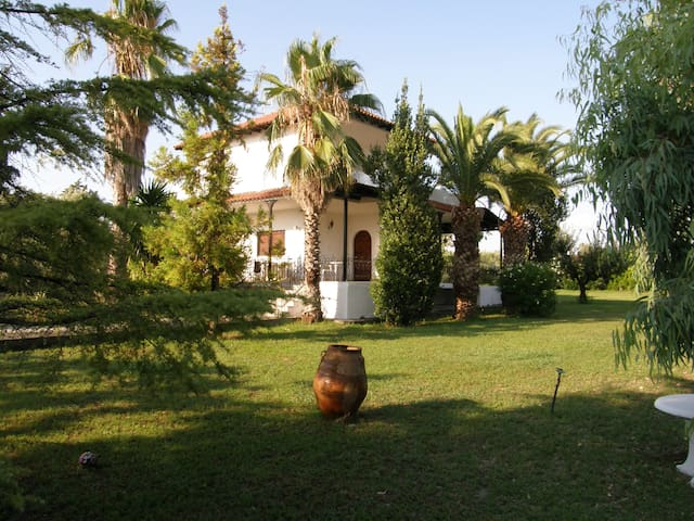 VILLA KALLIKRATIA PRIVATE BIG LAND - Νέα Καλλικράτεια - Villa