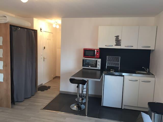 Grande Studio 30 m2 équipe - Saint-Louis - Apartment