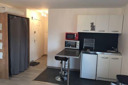 Grande Studio 30 m2 équipe - Saint-Louis