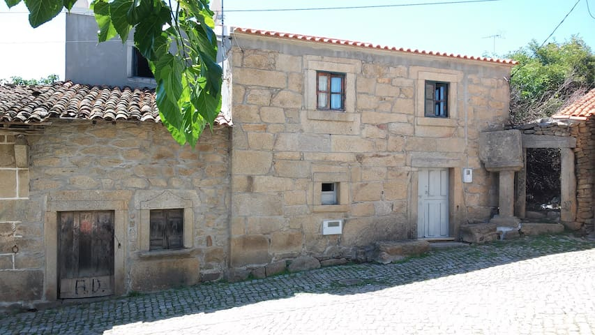 Typical house in North Portugal - Miranda do Douro Municipality - Talo