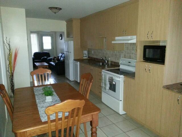 Beau grand 5 1/2 centre-ville Jonq - Saguenay - Apartment