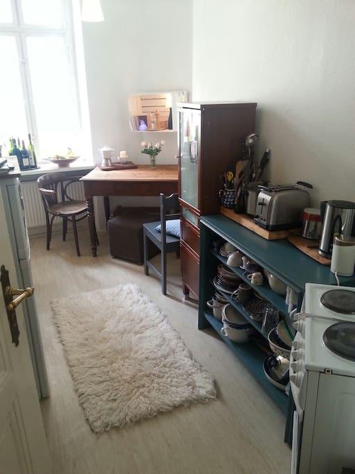 Die Küche mit allem, was du brauchst!