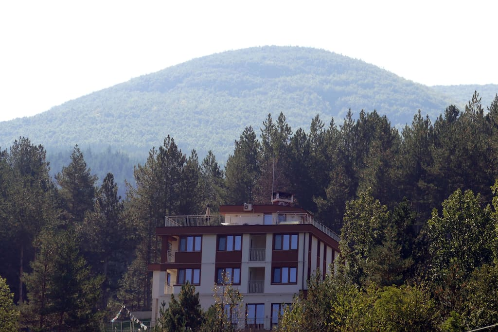 Mala Planina Guest House as seen from Yamishte district