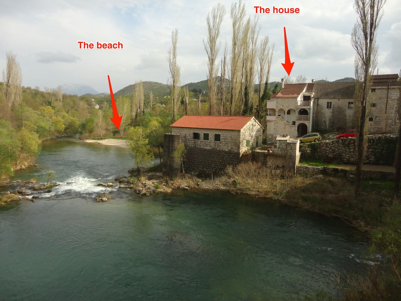 The house and the river