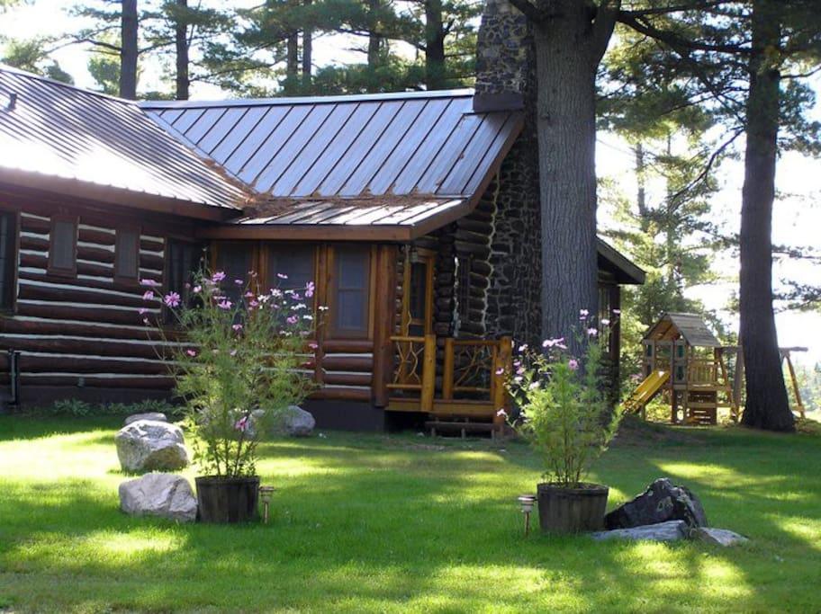 The Lodge - main entrance