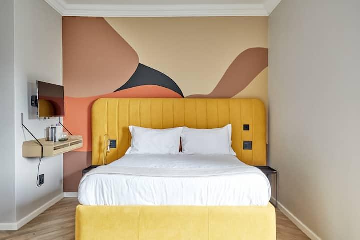 Namibian landscape 'inspired' boutique hotel room