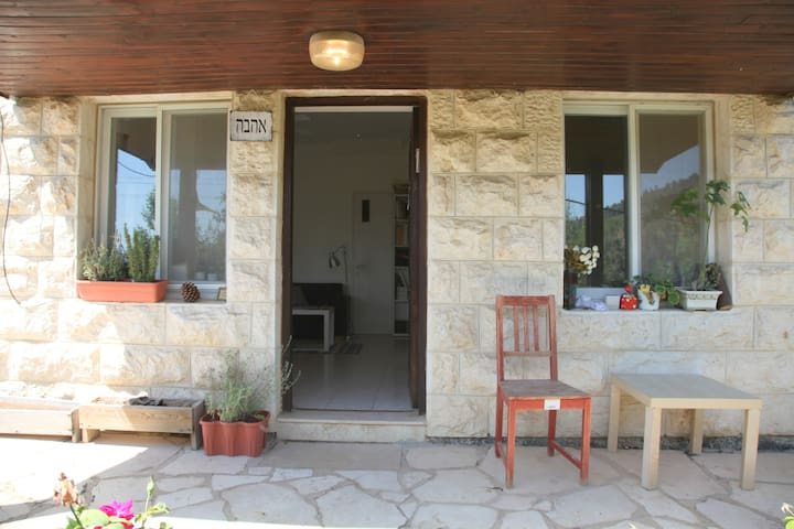 Private wild nature near Jerusalem - Beit Zayit - Appartement