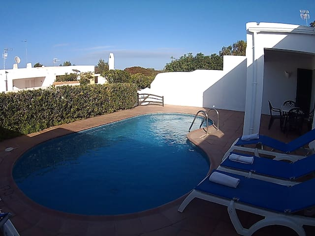 apartamento con piscina privada - Ciutadella de Menorca - Apartamento