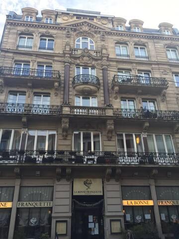 Bon appartement au centre ville - Strasbourg - Huoneisto