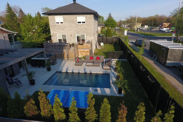 Spa and heated pool, 8 guests rewarded !