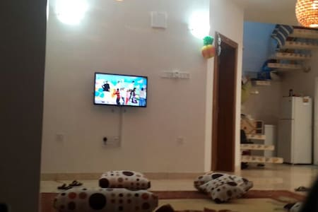 Sofa at the corridor - House