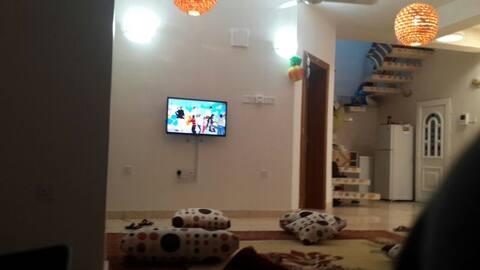Sofa at the corridor